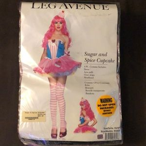 Leg Avenue Woman's Cupcake Halloween Costume